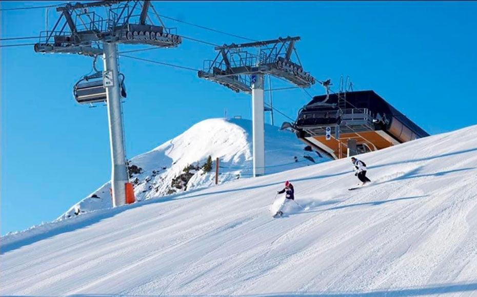 Acidente de Schumacher aconteceu na Estação de Esqui de Méribel, na França (Foto: Divulgação)