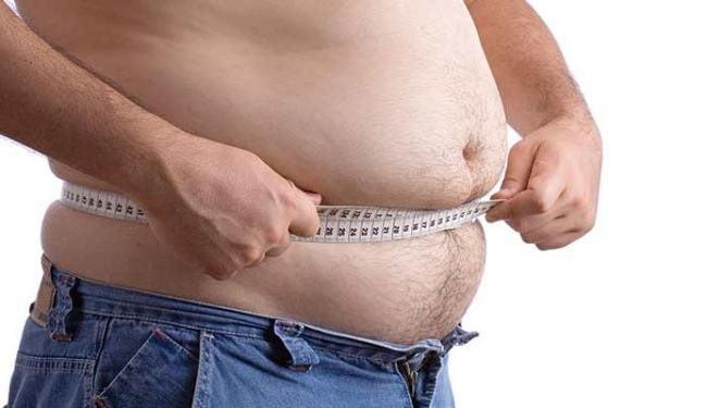 Estudo foi feito com pessoas com mais de 100 centímetros de cicuferência na barriga