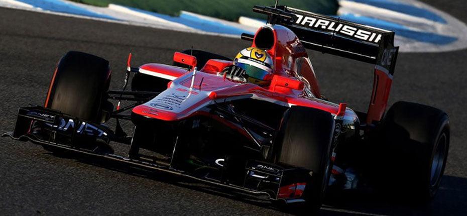 Brasileiro chegou a ser anunciado como titular da Marussia na F-1 e testou em Jerez de La Frontera (Foto: Getty Images)