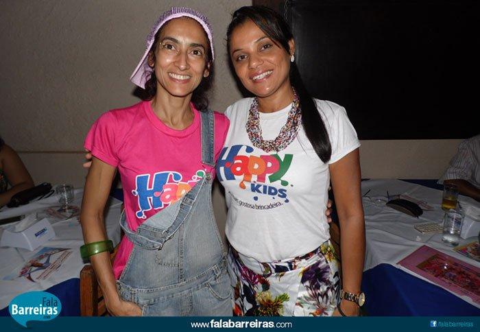 Rita de Cássia Pondé e Ludimila Pacheco, coordenadoras do Hapy Kids