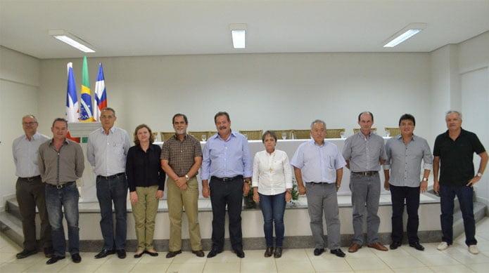Nova diretoria da Fundação Bahia, biênio 2014/15
