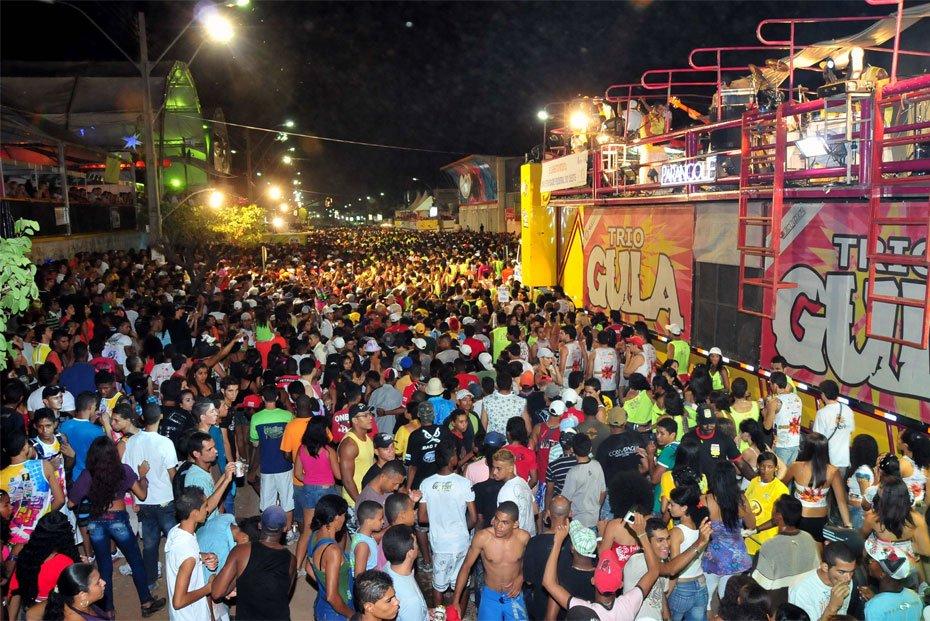 Kimarrei, o mais tradicional bloco de carnaval de Barreiras, sempre levou alegria para a avenida.