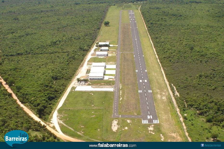 Vista aérea do aeroporto da ABA (Foto: Ivan Gouveia)