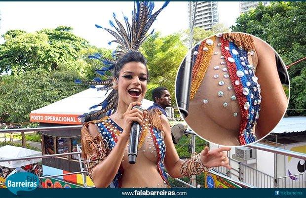 Mari Antunes com o Babado novo em Salvador