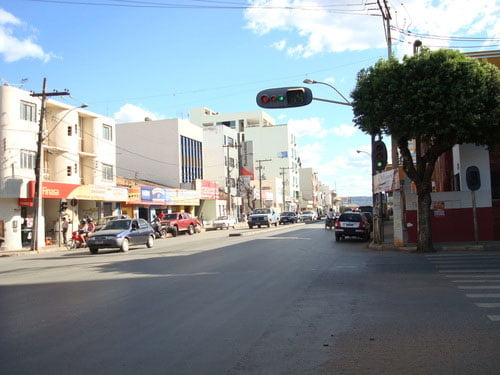 Avenida Benedita Silveira, centro de Barreiras