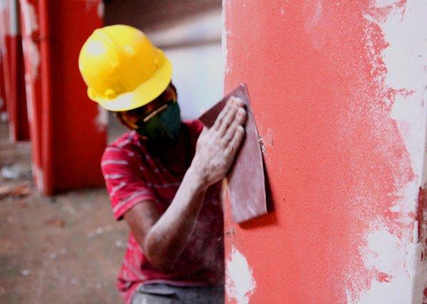 Trabalhos para deixar Mercado Caparrosa pronto estão sendo realizados