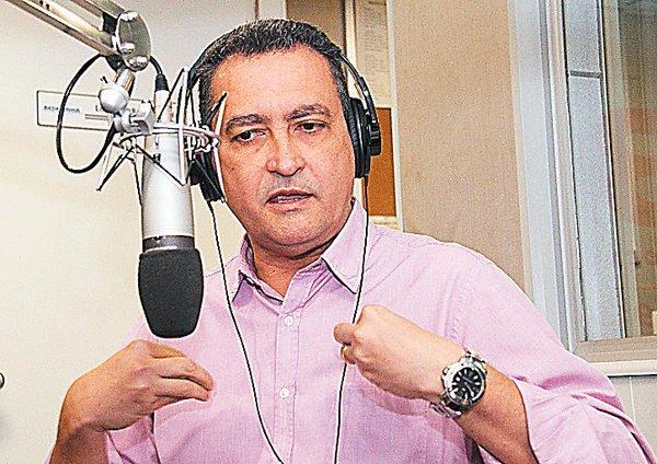 Candidato do PT ao governo da Bahia é entrevistado pela rádio CBN   Foto: Evandro Veiga