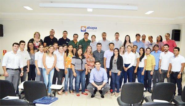 O treinamento aconteceu no auditório da Abapa, em Barreiras