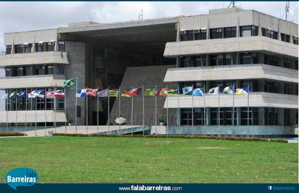 Prédio da Assembleia Legislativa da Bahia   Foto: Reprodução Internet