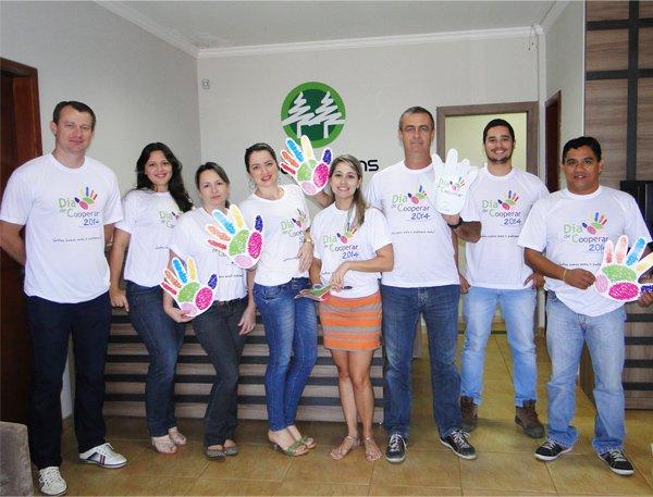 Equipe Cooperfarms já vestiu a camiseta do Dia C