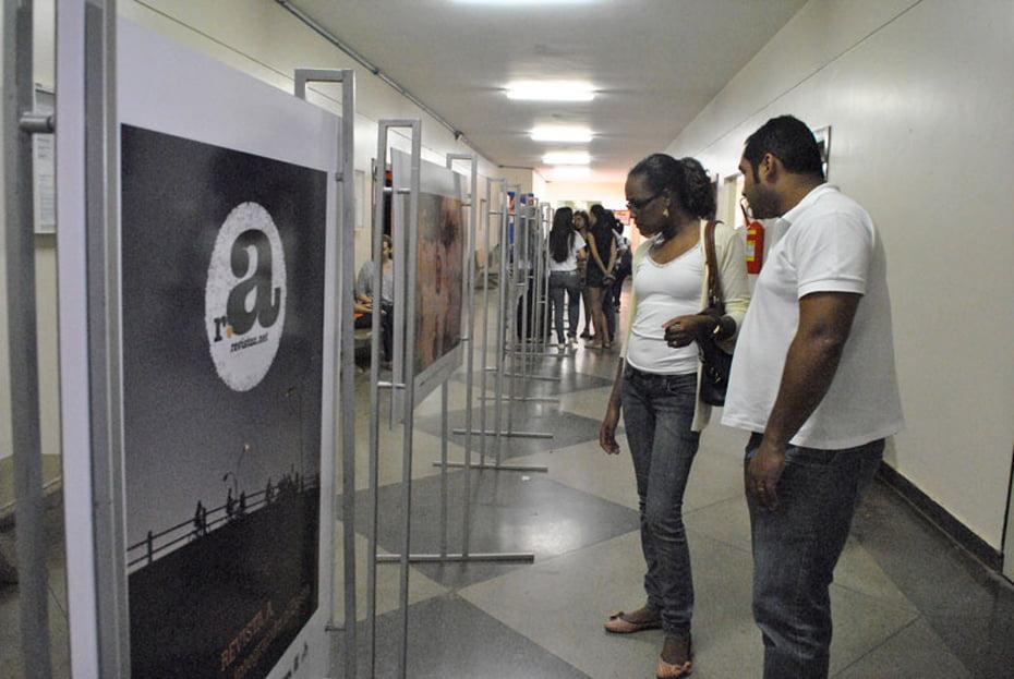 A Faculdade São Francisco de Barreiras expôs as fotos até a primeira semana de maio