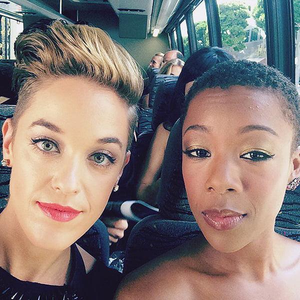 Morelli e a atriz Samara Wiley | Foto: Reprodução/Instagram