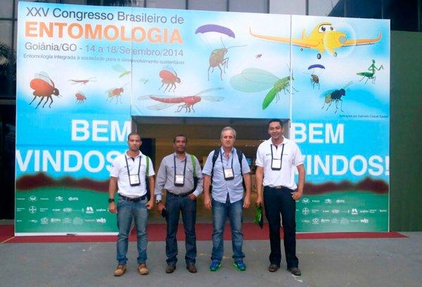 Representantes da Abapa no XXV Congresso Brasileiro de Entomologia