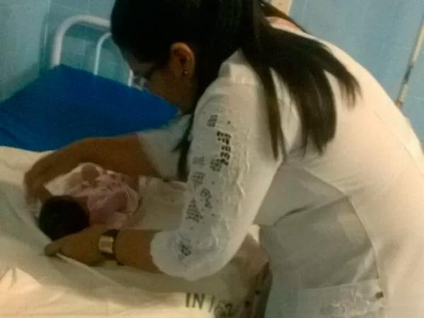 Criança é encontrada no lixo em Oriximiná | Foto: Márcio Garcia