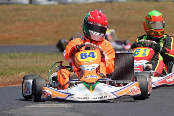 Fernando Croce disputa 500 Milhas de Kart