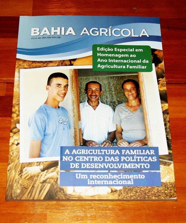 Revista Bahia Agrícola | Foto: Heckel Júnior