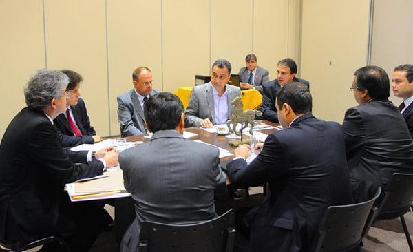 Encontro com governadores eleitores | Foto: José Marques/Secom-PB