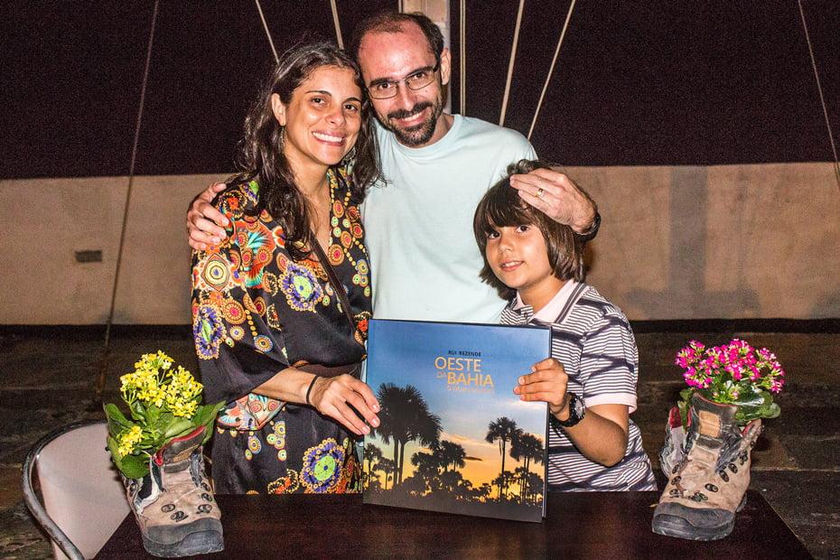 Rui Rezende e a piloto Ana Maira | Foto: Renata Rocha