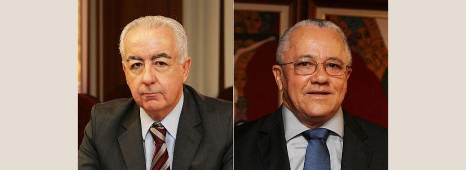 Marcus Cavalcanti (esq) e Josias Gomes (dir) assumem Seinfra e Serin   Fotos: Manu Dias/GOVBA