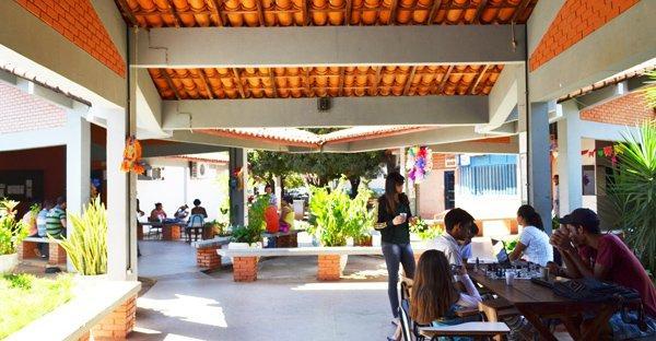 Área interna do Campus IV em Barreiras