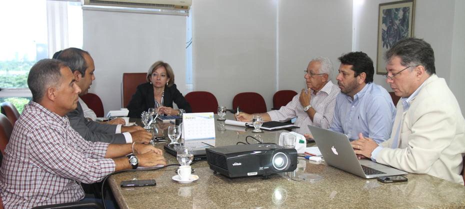 Reunião Moscamed x Abrasfrutas   Foto: Daniela Silva