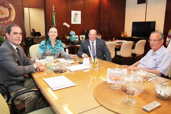 Participaram desta reunião as principais entidades que representam o setor | Foto: Ascom Abrapa