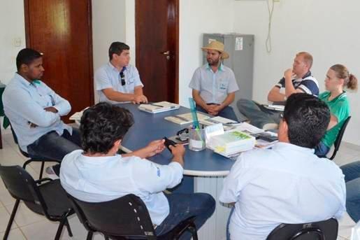 Diagnóstico realizado na Fazenda Decisão | Foto: Ascom Abapa