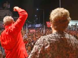 Dilma Rousseff e o ex-presidente Lula durante a campanha de 2014: ex-presidente pretende passar temporadas em cada estado para tratar da crise do partido e mobilizar aliados para sua candidatura em 2018 | Foto: © Ricardo Stuckert/Instituto Lula/Divulgação