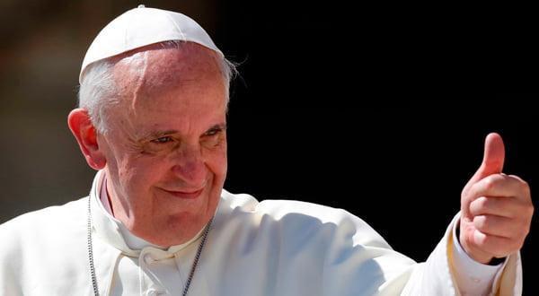 Papa Francisco incentiva a oração   Foto: http://hypescience.com/
