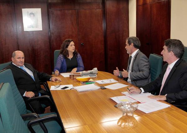 O encontro aconteceu no dia 10, em Brasília