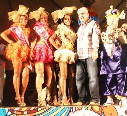 Escolha do Rei Momo, Rainha e Princesas de 2014   Foto: Dircom Barreiras