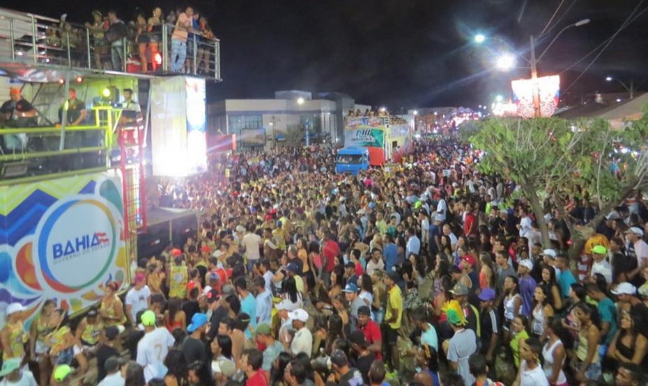 Uma verdadeira multidão curtiu os cinco dias de folia no circuito Aguinaldo Pereira | Foto: Dircom Barreiras