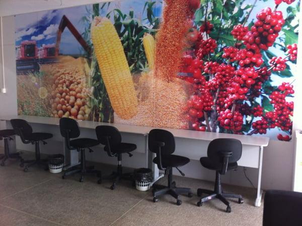 Estrutura Sala de Imprensa Bahia Farm Show | Foto: Araticum