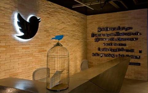 Sede da empresa Twitter em São Paulo | Foto: Divulgação/Twitter