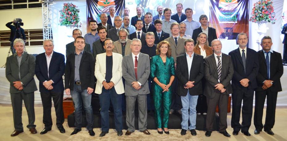 A nova diretoria do Sindicato de Luís Eduardo é presidida pela produtora Carminha Missio | Foto: Virgília Veira
