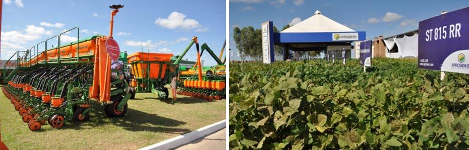 Exposição de novas tecnologias na Bahia Farm Show | Fotos: Arquivo