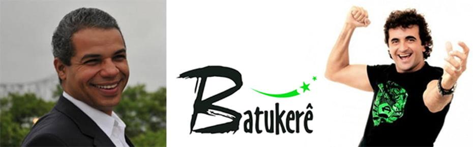 José Maurício Brandão e Marquinhos, do Batukerê | Fotos: Reprodução