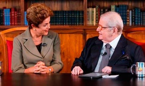 Dilma em entrevista ao Programa do Jô | Foto: Agência Brasil