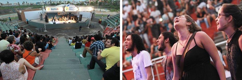 O público fã de Raul Seixas matou a saudade do saudoso roqueiro baiano   Fotos: Raul Golinelli/GOV/BA