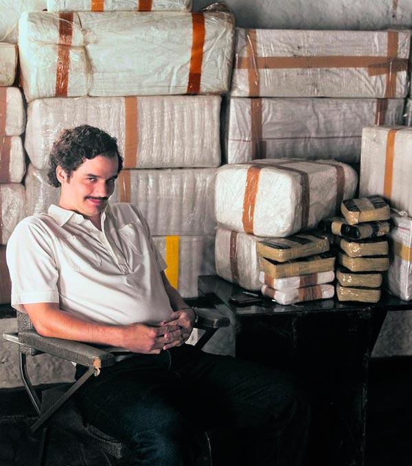 A série rodada na Colômbia, mostra a história de Escobar em ordem cronológica em dez episódios   Foto: Divulgação