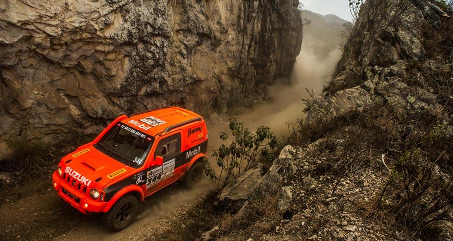 Essa será a segunda participação do Suzuki Jimny no Sertões | Foto: Marcelo Machado