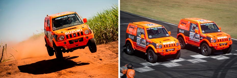 23ª edição do Rally dos Sertões teve muitos saltos no percurso e a disputa começou com prólogo no Autódromo de Goiânia | Fotos: Victor Eleuterio/Marcelo Machado