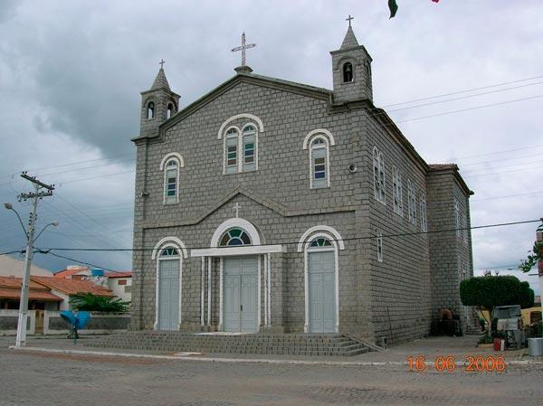 Matriz De Santa Luzia, em Santaluz/BA| Foto: Reprodução http://img.ibxk.com.br/