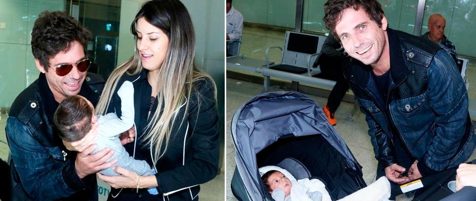 O filho do cantor nasceu no dia 13 de julho   Fotos: Thiago Duran / AgNews