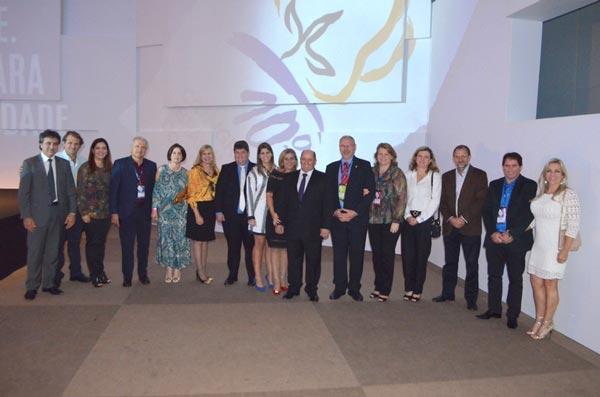 Produtores na cerimônia de abertura do 10º CBA   Foto: Divulgação