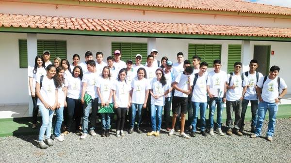 Alunos do projeto Jovem Aprendiz | Foto: Ascom Aiba