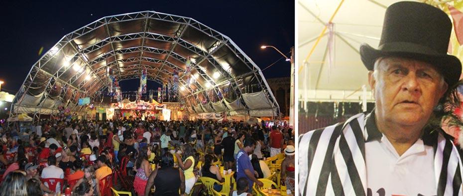 Já em 2016 toda a publicidade do Carnaval Cultural já terá o nome do saudoso carnavalesco | Fotos: Dircom Barreiras
