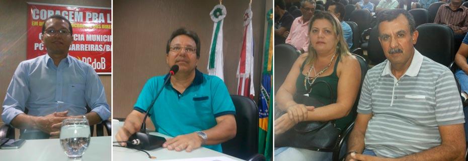 Conferência Municipal do PCdoB em Barreiras contou com a presença de representantes de diversos partidos | Fotos: Osmar Ribeiro/Falabarreiras