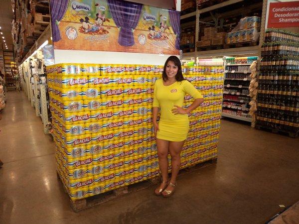 São dez vagas para promotor de vendas do sexo feminino | Foto: Reprodução http://masttermerchandising.com.br/