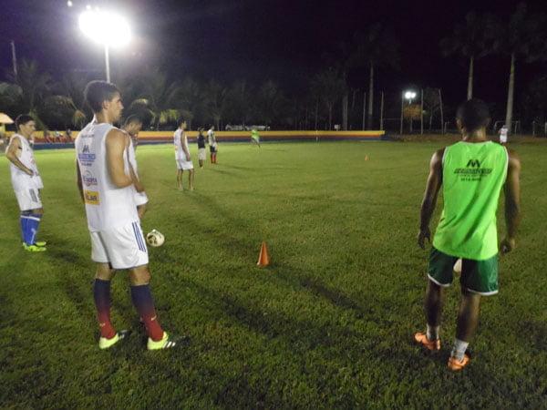 Treinamento físico e técnico foi bastante puxado   Foto: Osmar Ribeiro/Falabarreiras